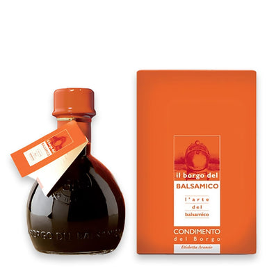 Condimento del Borgo  Balsamic Vinegar based Seasoning  Orange Label - ilikeitalianfood
