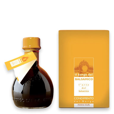 Condimento del Borgo  Balsamic Vinegar based Seasoning  Yellow Label - ilikeitalianfood