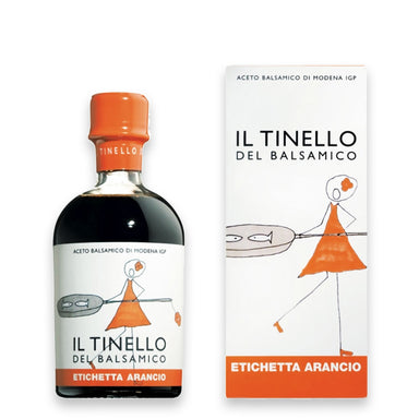 "Balsamic Vinegar of Modena PGI  ""Il Tinello"" Orange Label - ilikeitalianfood"
