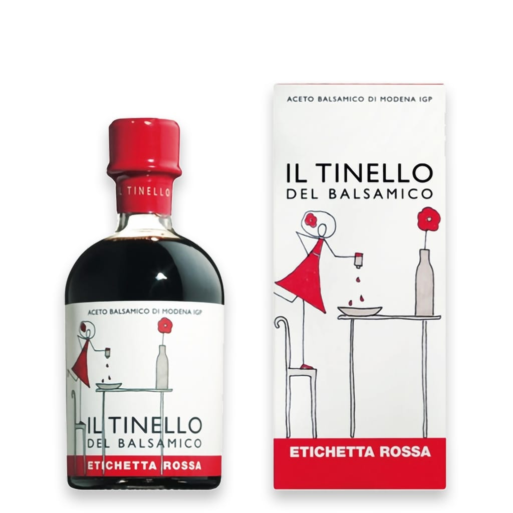 "Balsamic Vinegar of Modena PGI  ""Il Tinello"" Red Label - ilikeitalianfood"