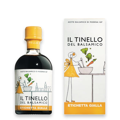 "Balsamic Vinegar of Modena PGI  ""Il Tinello"" Yellow Label - ilikeitalianfood"