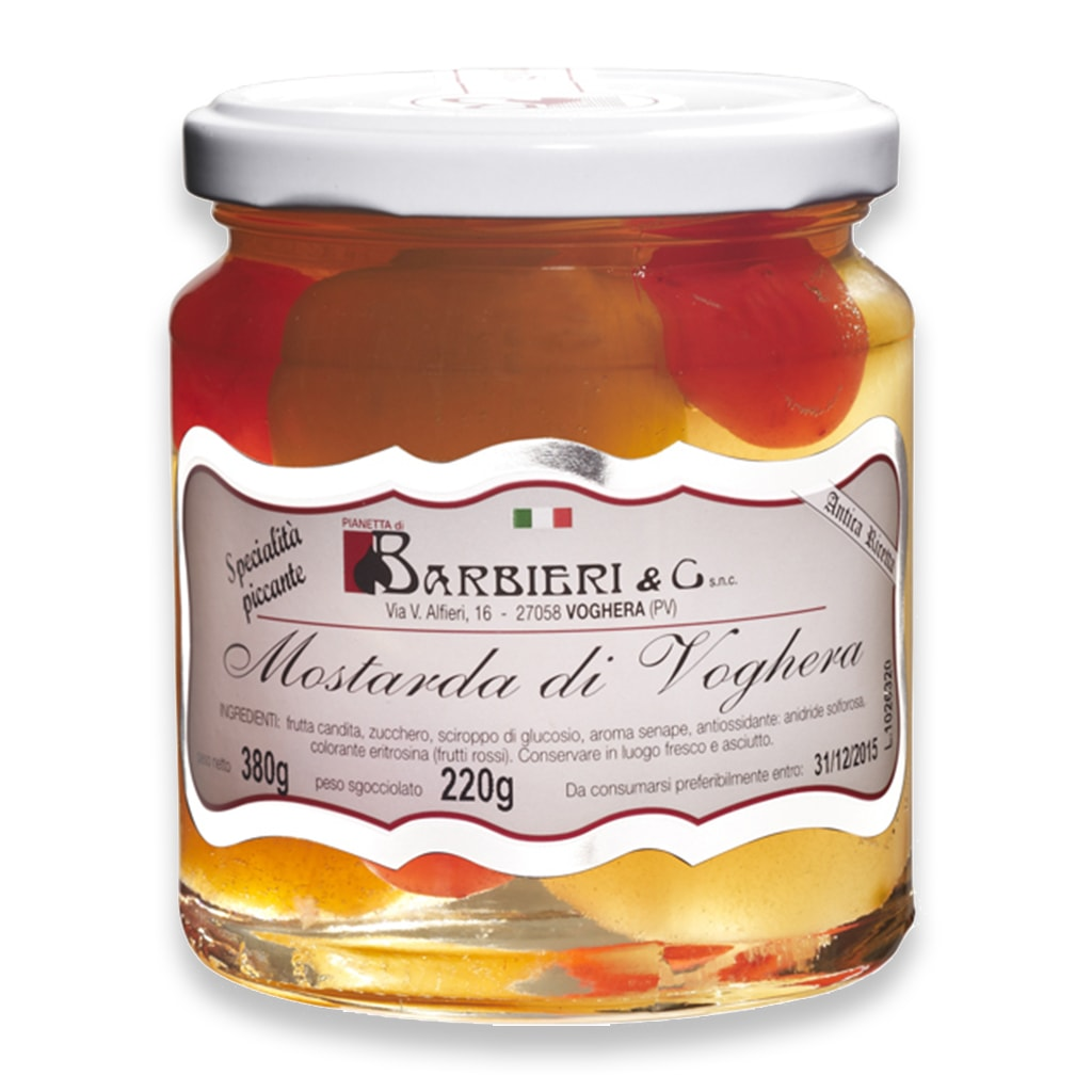Mixed Fruit Mostarda di Voghera 380g - ilikeitalianfood