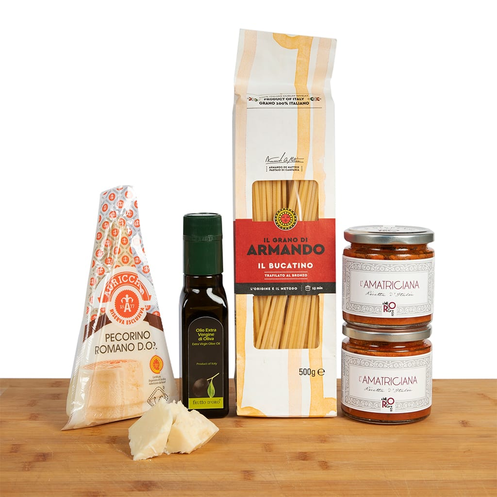 Bucatini all'Amatriciana box - ilikeitalianfood