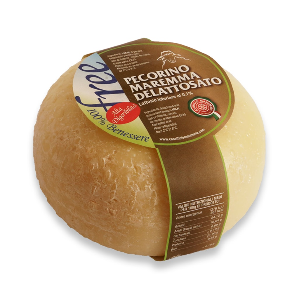 Italian Cheese Pecorino Cheese with Low Lactose Content 600g