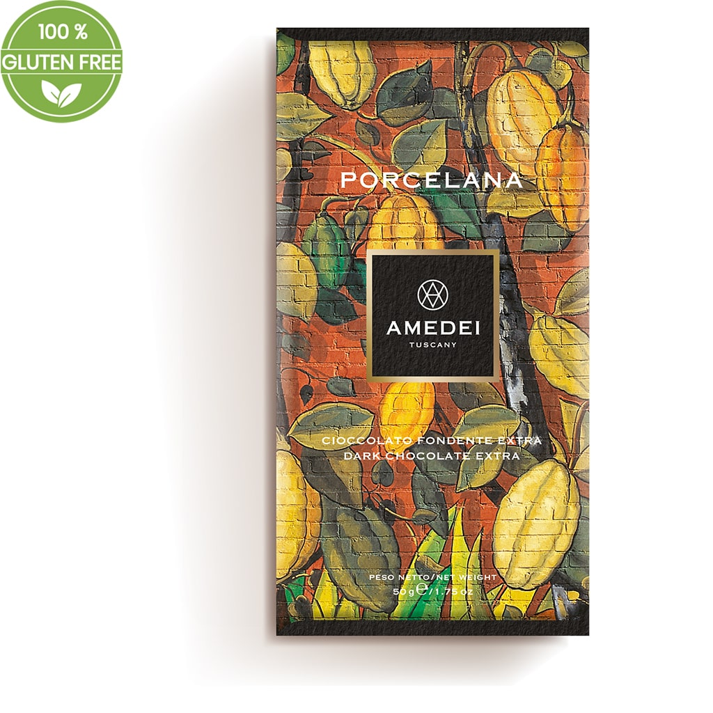 "Extra Dark chocolate bar 70% ""Porcelana"" 50g - ilikeitalianfood"