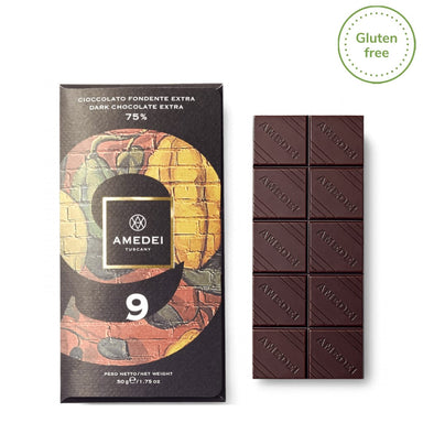"Extra Dark Chocolate bar ""9"" - ilikeitalianfood"
