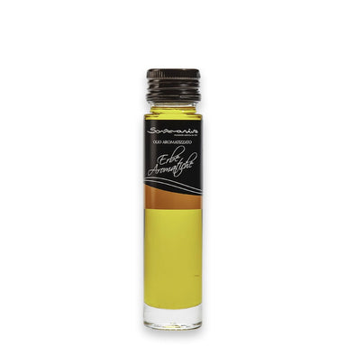 Extra Virgin Olive Oil infused in Ligurian herbs - ilikeitalianfood