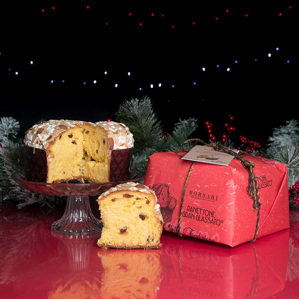 Glazed Panettone With Almonds - ilikeitalianfood