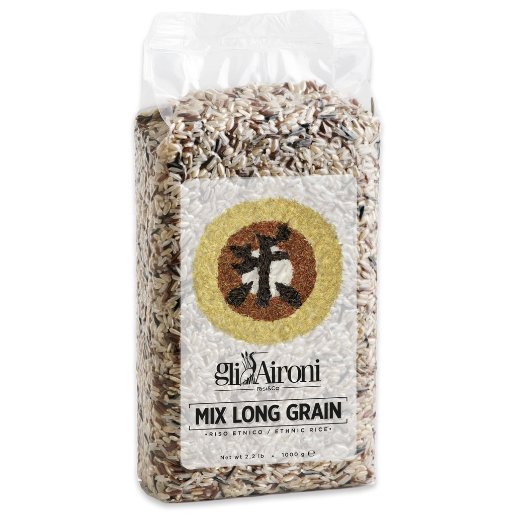 Long Grain rice mix 1Kg - ilikeitalianfood