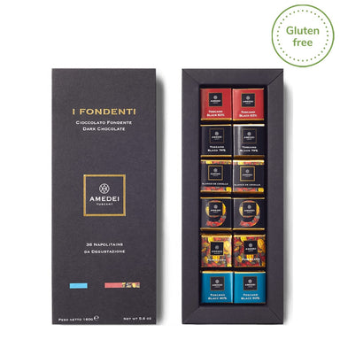 I Fondenti  36 Napolitains Extra Dark Chocolate - ilikeitalianfood
