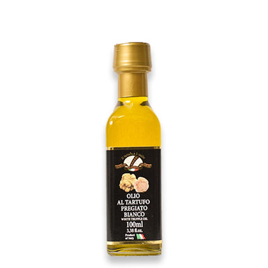 Extra virgin Olive Oil flavoured with White Truffle 100ml - ilikeitalianfood