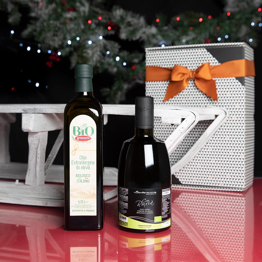 Organic Extra Virgin Olive Oils Gift Box - ilikeitalianfood