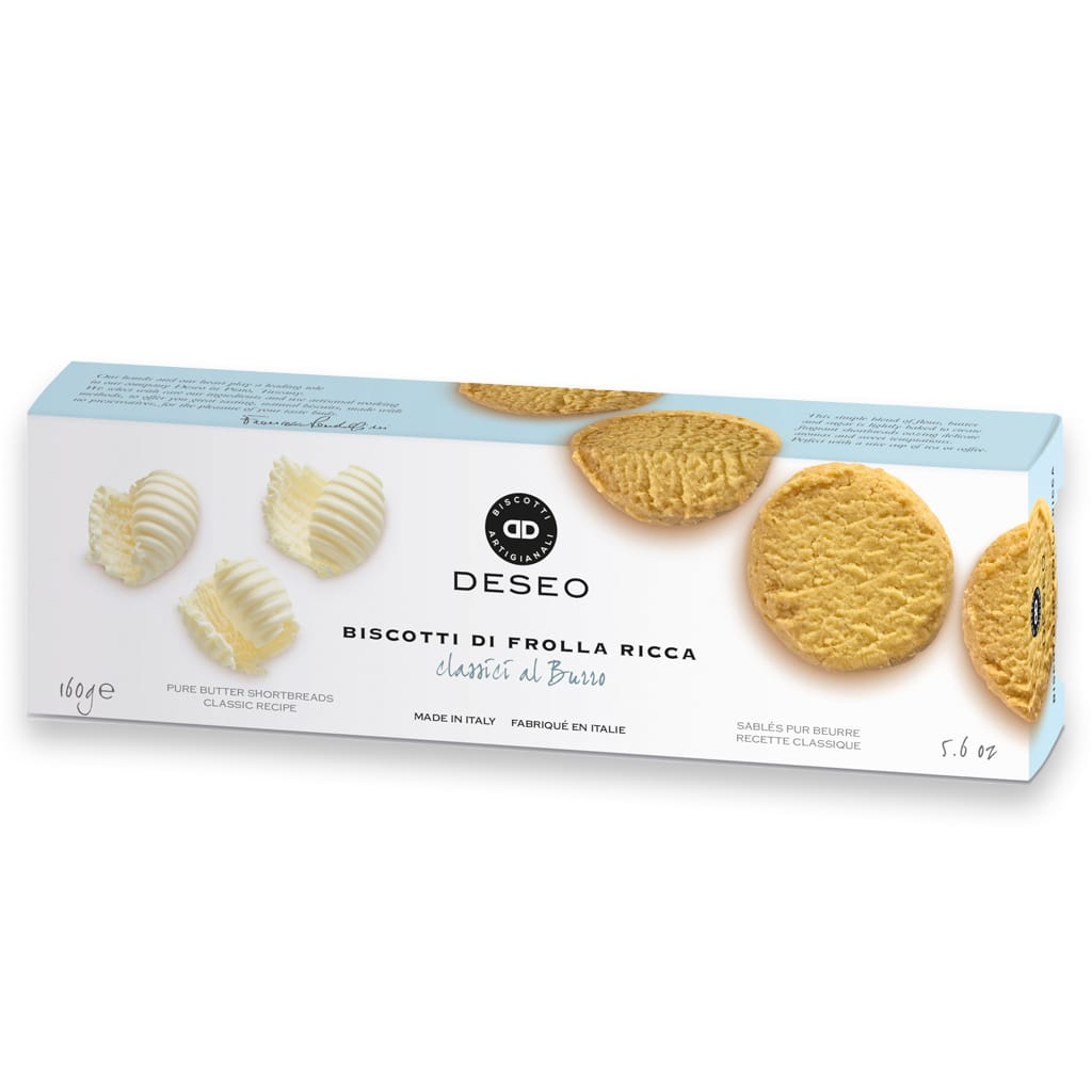 Italian shortbreads pure butter Deseo