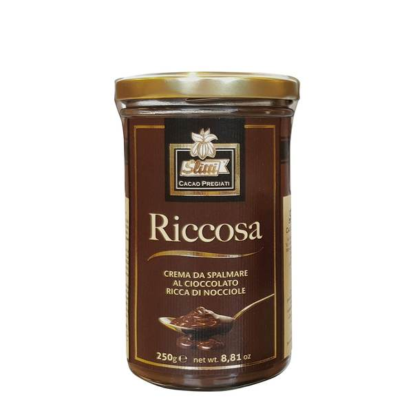 Italian Chocolate and Hazenut spread Riccosa 250g