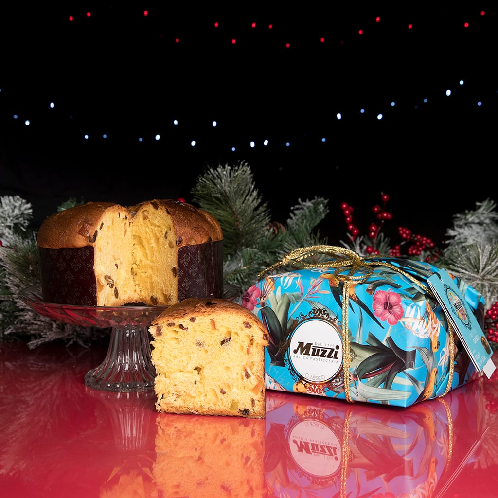Traditional Panettone Animalier Line hand-wrapped - ilikeitalianfood