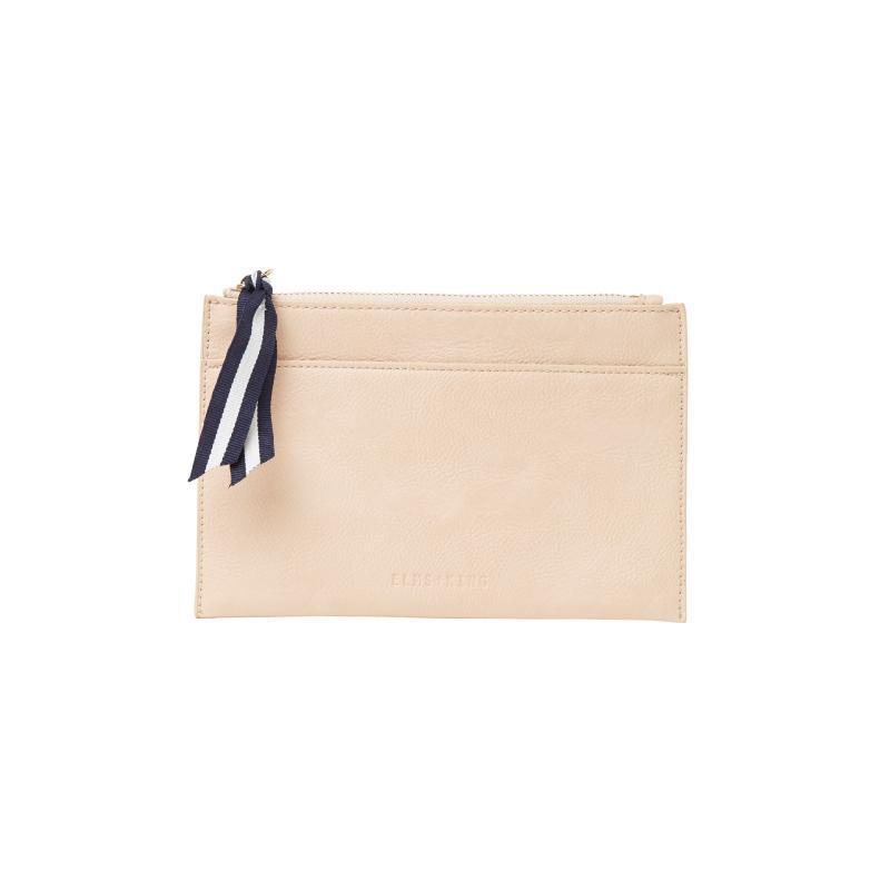 Elms + King New York Coin Purse - Nude Pebble