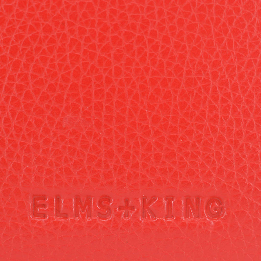 Elms + King New York Coin Purse - Red