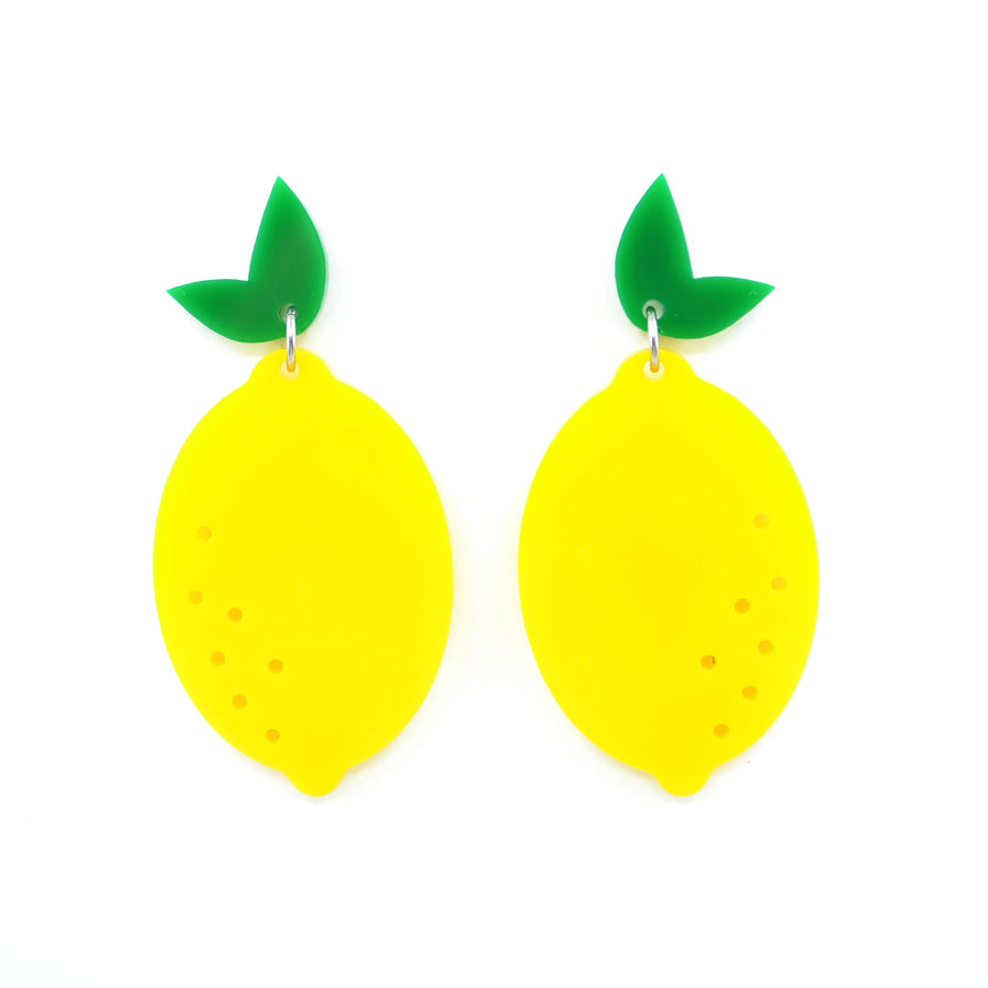 'When Life Gives you Lemons' Dangle Earrings