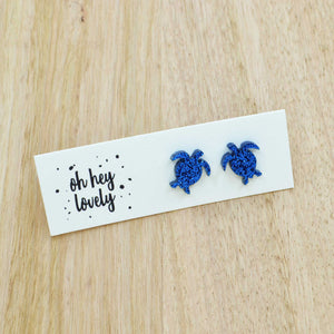 'Reef Turtle' Mini Stud Earrings
