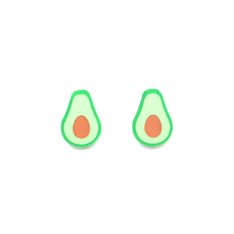 'Avo Nice Day' Mini Stud Earrings