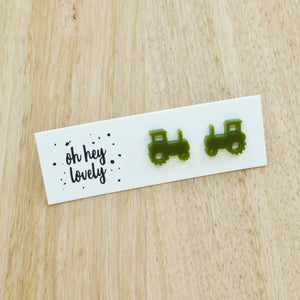 'Tractor' Mini Stud Earrings