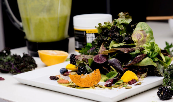 SUPA MEGA GREENS SALAD DRESSING (by Chef Lauren Von Der Pool)