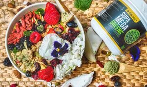 SUPA MEGA SMOOTHIE BOWL (By Lauren Von Der Pool)