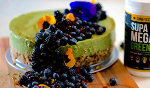 GREEN GOODNESS VEGAN PIE (By Chef Lauren Von Der Pool)