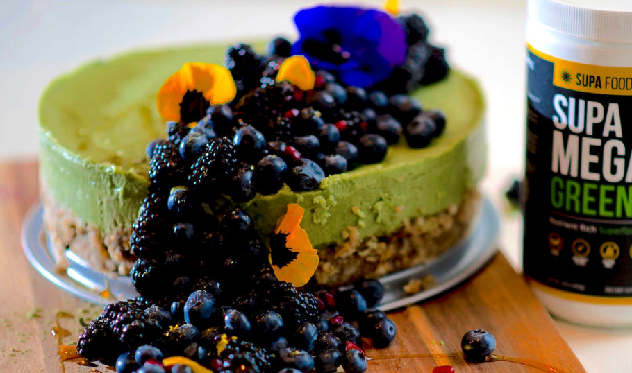 GREEN GOODNESS VEGAN PIE (By Lauren Von Der Pool)