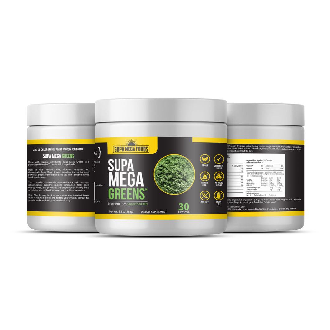 Supa Mega Greens | 30 Servings