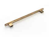 Brass handles. Kitchen drawer and cupboard handles. Hand cast in vintage or polished brass finish
