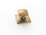 Brass drawer handles and pulls. square handle design. Great for kitchen makeovers and cupboard pulls