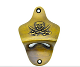 Pirate skull and cross bones bottle opener. Perfect beer gift by The Foundryman