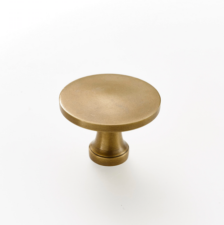 Brass drawer knobs and pulls. Kitchen hardware.  Supplied with fitting screw, many styles and sizes available