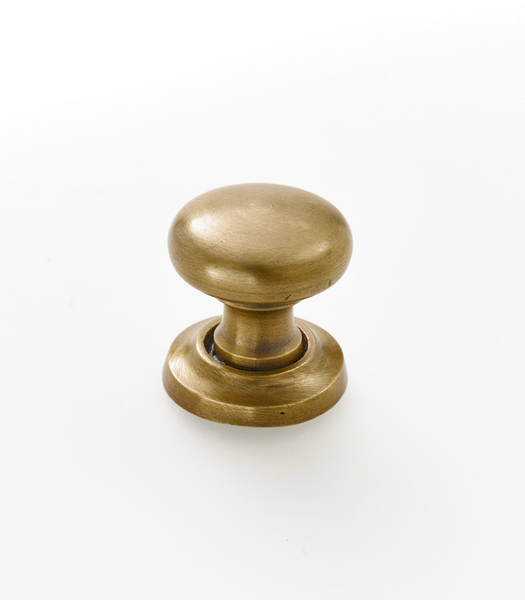 "Solid brass classic Drawer pulls. 1.25"" across, with optional back plate ."