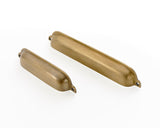 brass drawer cup handles. Solid brass supplied with fitting screws. 2 sizes from 6.5