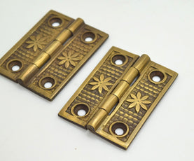 brass door hinges, Perfect for Kitchen makeovers and Furniture up cycling projects.