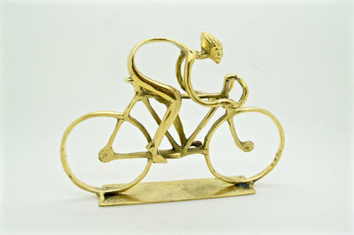 Brass cycling gifts. Cycling trophy . Man cave gifts and stocking fillers.