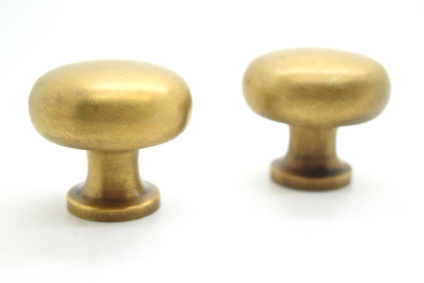 "1.55"" Brass kitchen pulls. One colour, 100 styles. By The Foundryman"