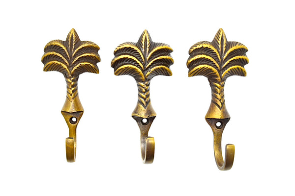 Brass pineapple hooks. Wall and door hooks for interior projects. Wide range of brass hooks available