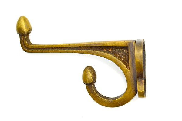 brass wall and door hooks. Perfect for coat racks, hallways, and bathroom towel hooks.