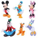 Disney Toys For Kids Disney Mickey Minnie Donald Duck Cartoon Action Figure Childre'S Toy Christmas Gifts 6Pcs/Set Tq0133