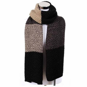 Scarves For Men & Women 2017 New Arrival Hot Sale Winter Warm Splicing Colors Stylish Comfortable 4 Colors PWX214