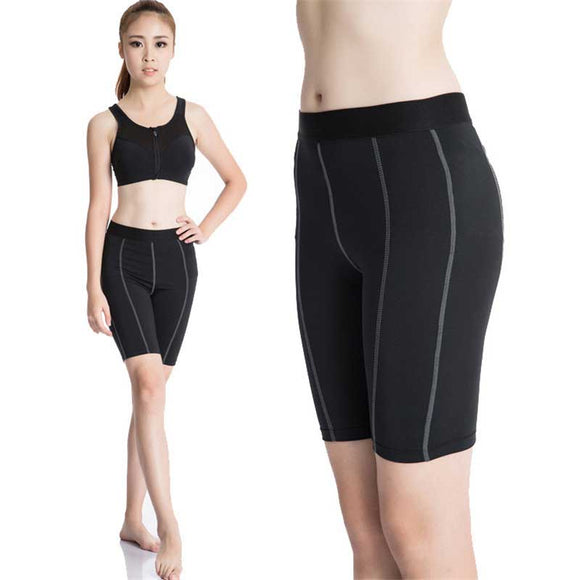 Women Pro Sporting Gymming Workout Compress Capri Cropped Casual Shorts For Excesice Bodybuilding Runs Slim Fitness Yogaing 2004
