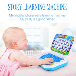 Multifunction Learning Machine English Early Tablet Computer Toy Kid Educational Toys for children learning Reading machine