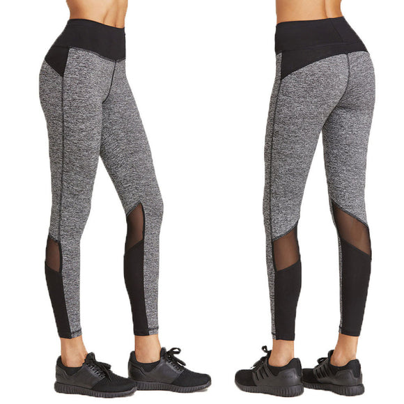 patchwork fitness legging