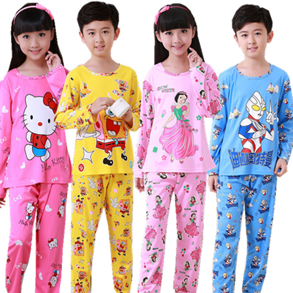 Cartoon character pajamas