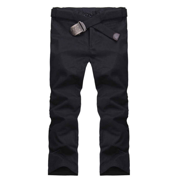 Mens Summer Fashion Slim Chino Casual Harem Straight Skinny Pants Trousers Slack