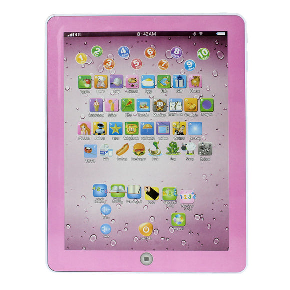Children's tablet infantil Learning Machine Computer Tablet Toy Gift For Kids Convenient to Use Best Seller