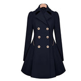 Fit n Flare Slim Trench Coat